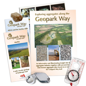 Earth Heritage Trust Geoparkway Publications trail leaflets