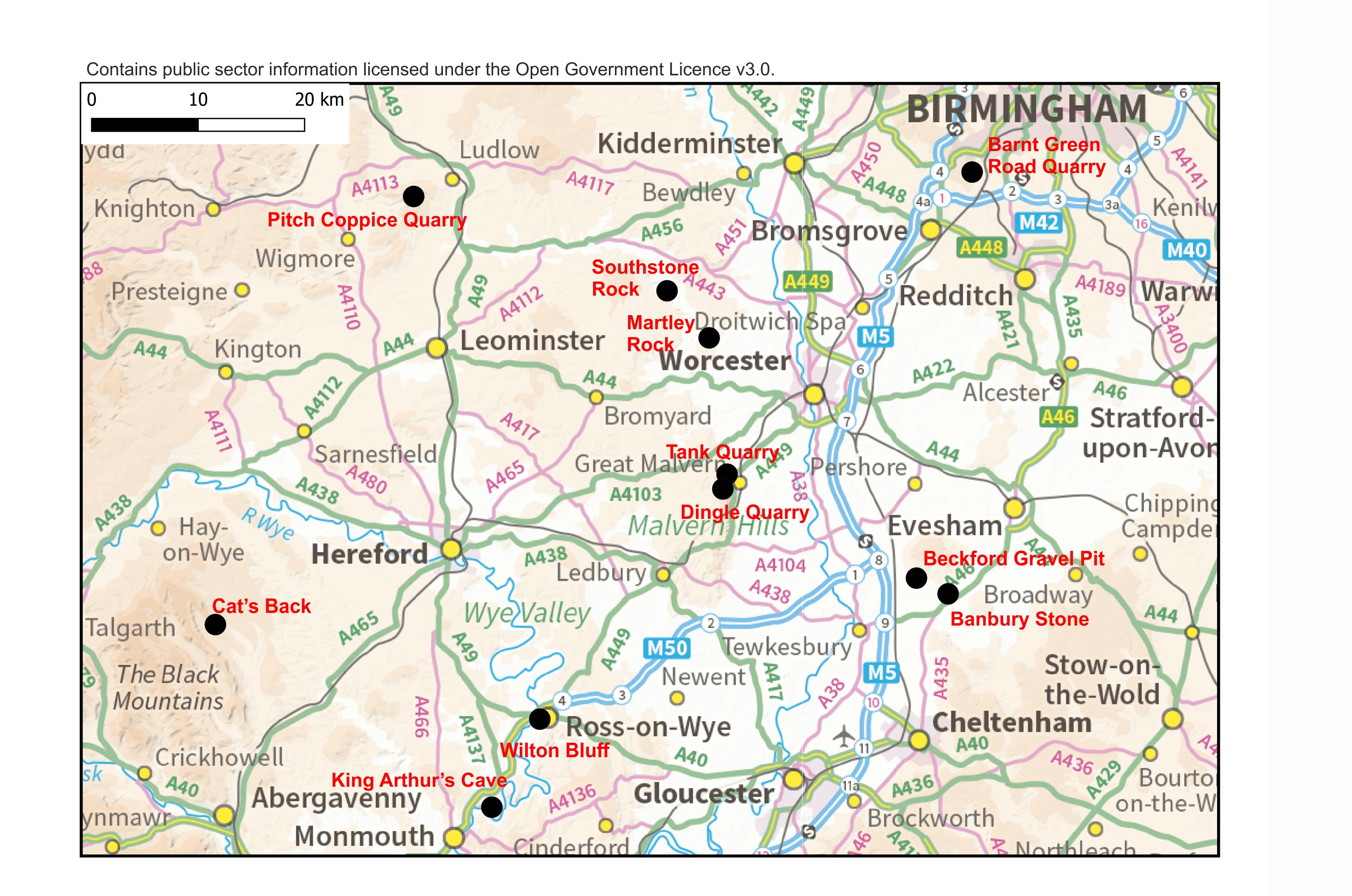 geosites to visit