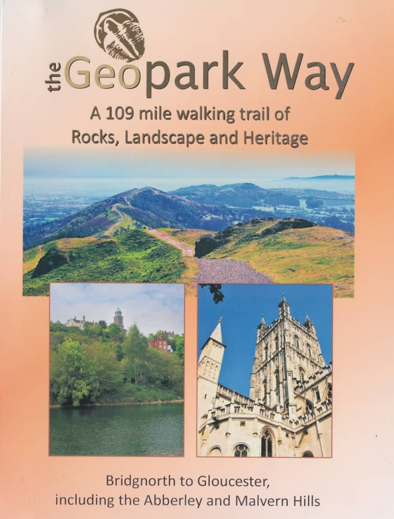 Cover of Geopark Way guidebook