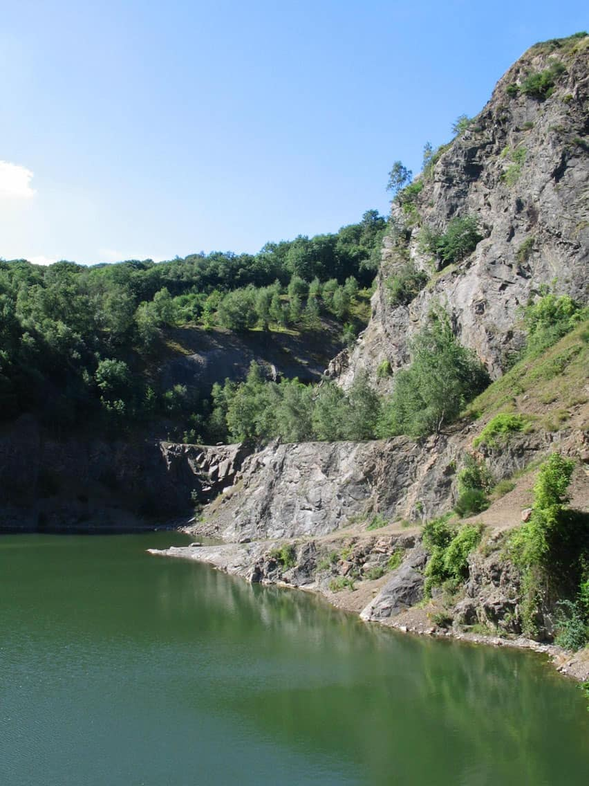 Gullet Quarry in the Malvern Hills