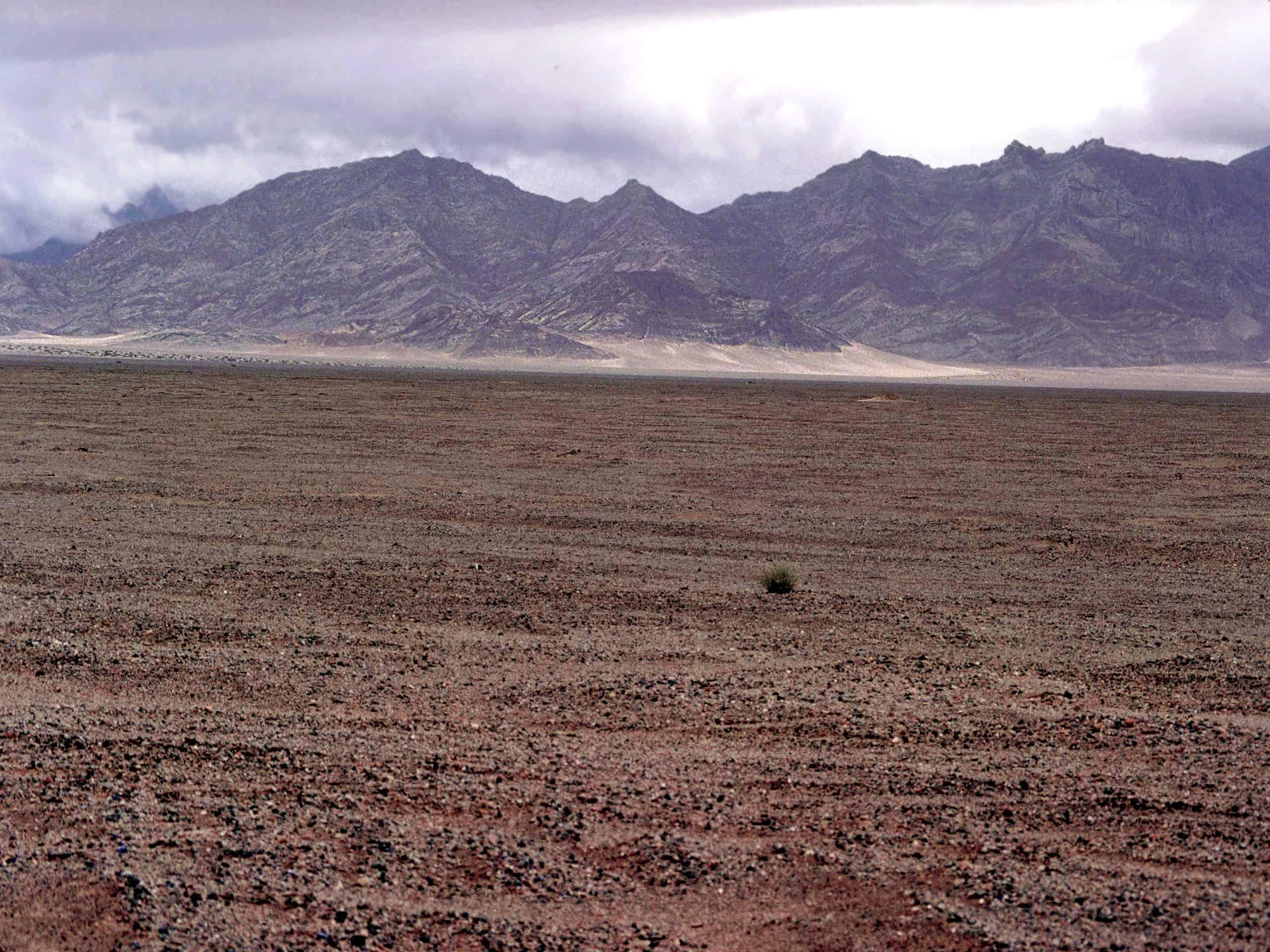Takia Shan Desert